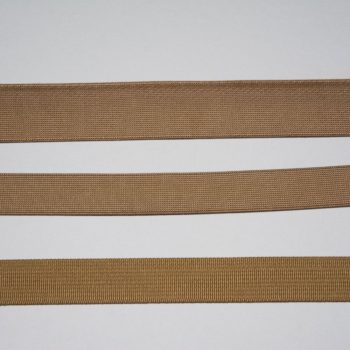Mil-Spec webbing, Coyote, Elastic and Nylon